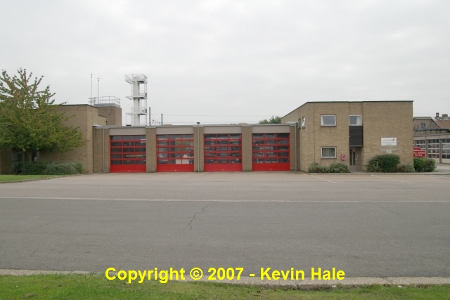 Kempston fire station, Southfields Road, Kempston, Bedfordshire