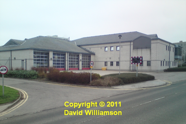 Aberdeen Central fire station, 2 Mounthooly Way, Aberdeen, Grampian